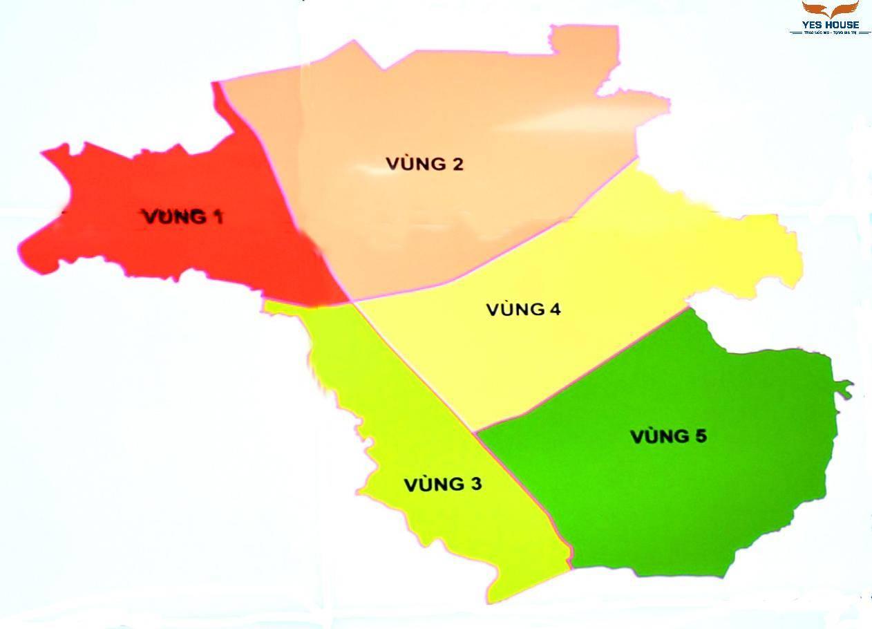 """Đồ án quy hoạch """"vùng huyện"""" Long Thành thành 5 phân vùng phát triển - Yeshouse"""