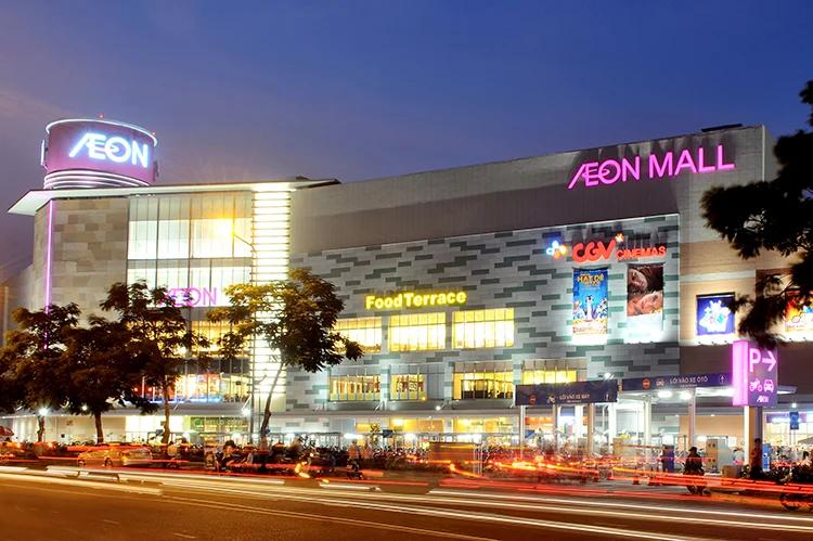 Aeon Mall Tân Phú rực sáng về đêm - Quận Tân Phú (TP HCM) - Yeshouse