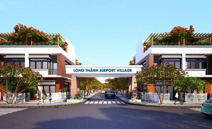 du an airport village long thanh - dat nen long thanh