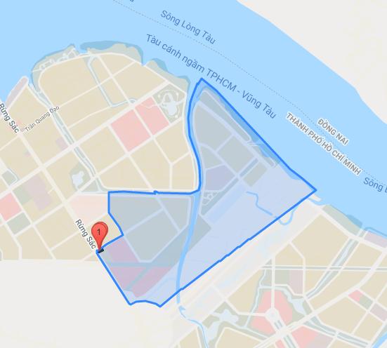 Bản đồ hành chính của Khu dân cư Thủ Hy (ảnh bản quyền Yeshouse tháng 09/2021).