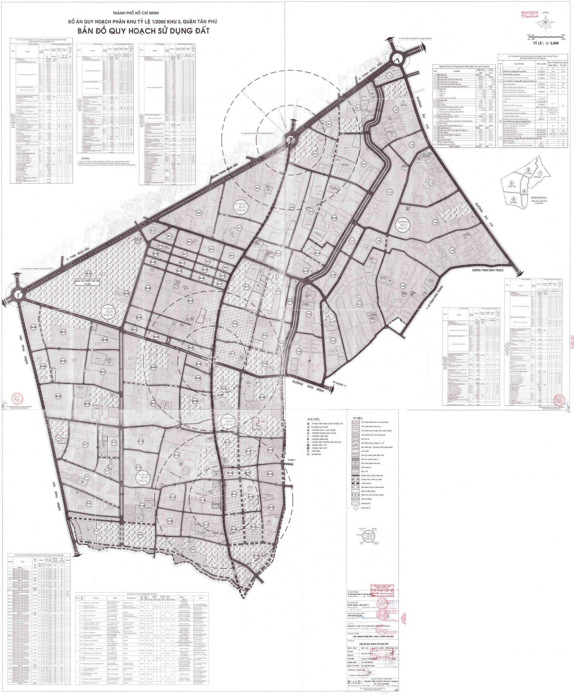 Bản đồ quy hoạch sử dụng đất ở khu vực 3 - Yeshouse