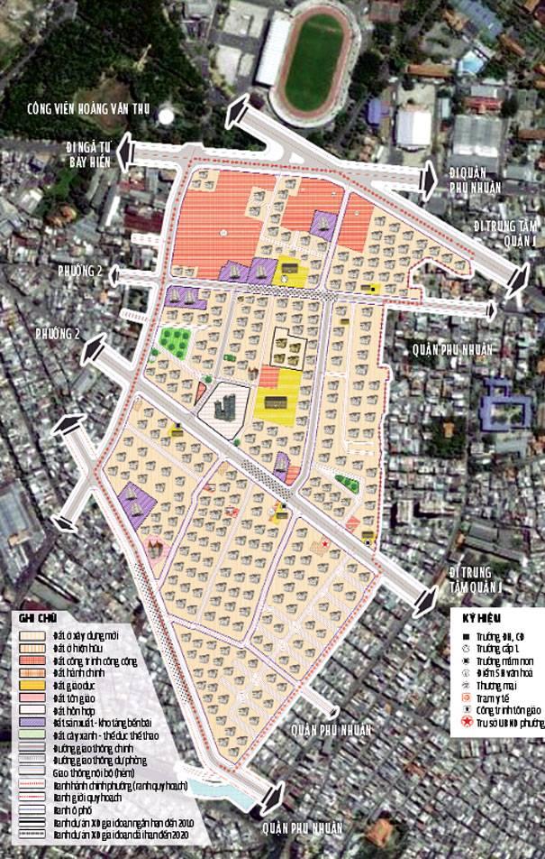 Bản đồ quy hoạch chi tiết phường 1 cập nhật năm 2021 có tỷ lệ 1/2000.