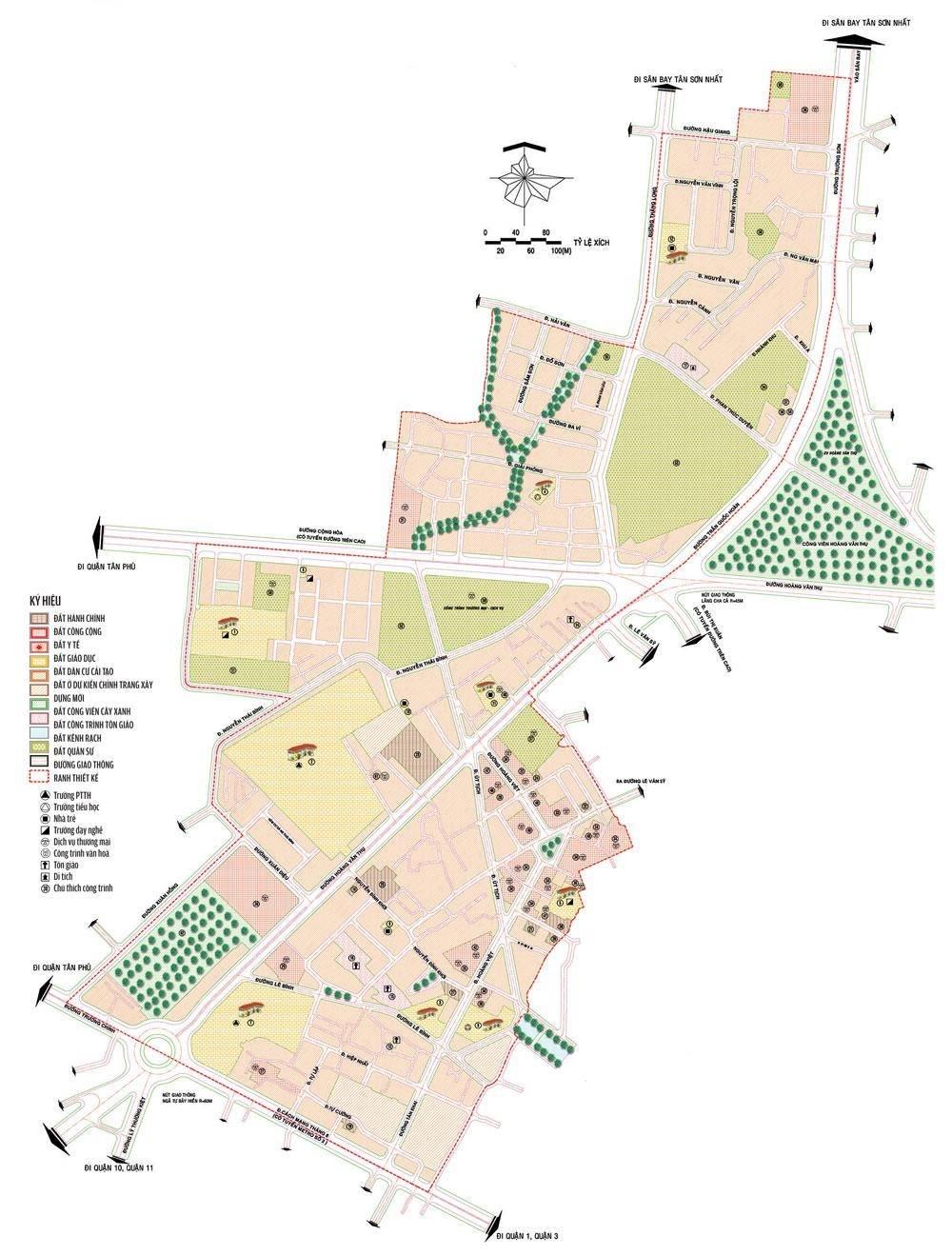 Bản đồ quy hoạch phường 4 quận Tân Bình cập nhật năm 2021 - Yeshouse
