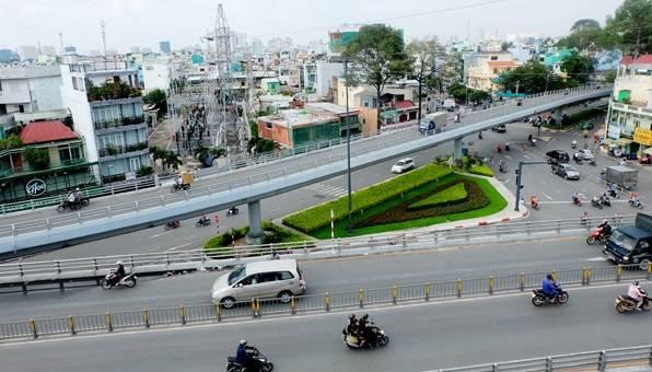 Cầu vượt Cây Gõ được thiết kế 3 nhánh chữ Y tại quận 6 - Quy hoạch giao thông quận 6 - Yeshouse