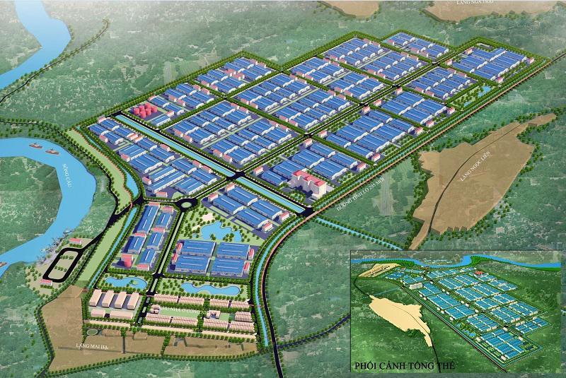 Quy hoạch phân khu tỷ lệ 1/2000 tại KCN Yên Lư (Bắc Giang) - Yeshouse - Khu công nghiệp Yên Lư
