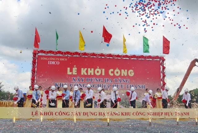 Lễ khởi công xây dựng hạ tầng khu công nghiệp Hựu Thạnh, huyện Đức Hoà, tỉnh Long An