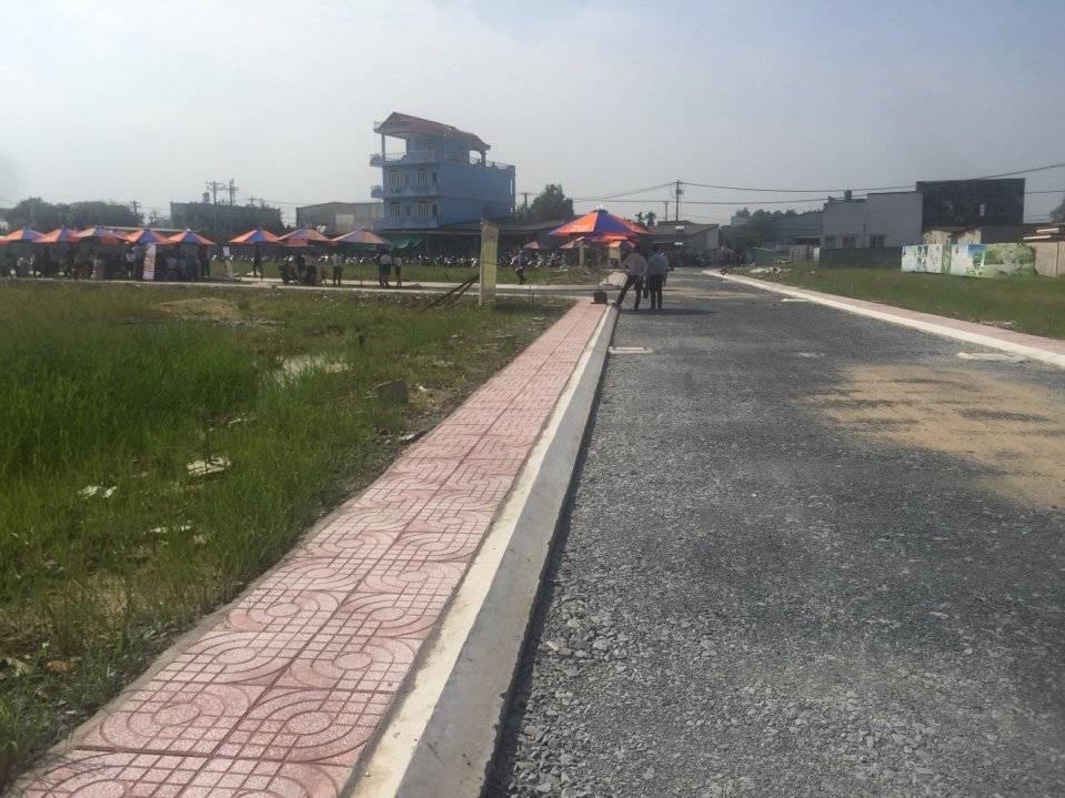 Hình ảnh thực tế KDC Đại Phú Bình Chánh