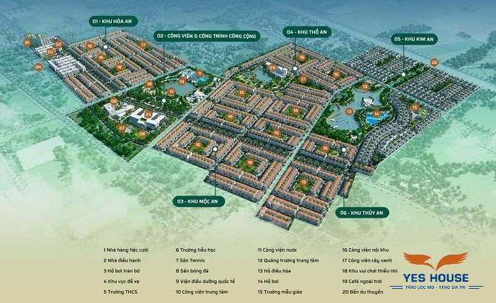 Hình 2. Nhiều dự án đang được triển khai xây dựng tại Đức Hòa - Bản đồ quy hoạch Đức Hòa - Yeshouse