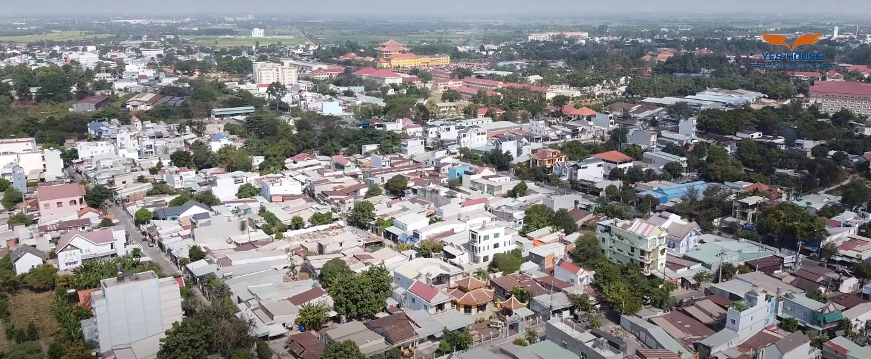 Thị trấn Hóc Môn nhìn từ trên cao - Yeshouse
