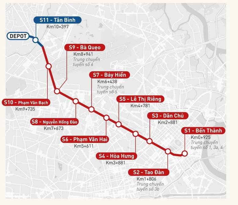 Giai đoạn 1 của tuyến số 2 dự kiến hoàn thành vào năm 2026 - Yeshouse