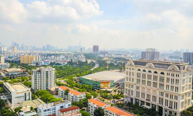 Thị trường căn hộ khu Nam TP HCM-Giá căn hộ nội đô