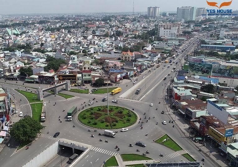 Cổng chào Thành phố Biên Hòa thuộc quy hoạch Biên Hòa - Yeshouse