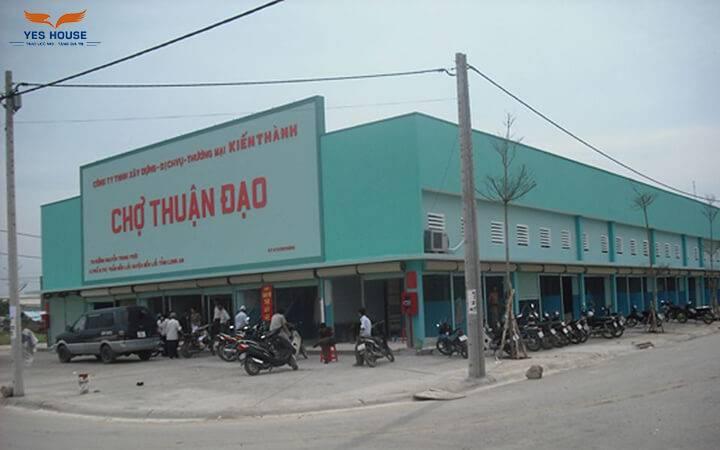 bán đất chợ Thuận Đạo Bến Lức