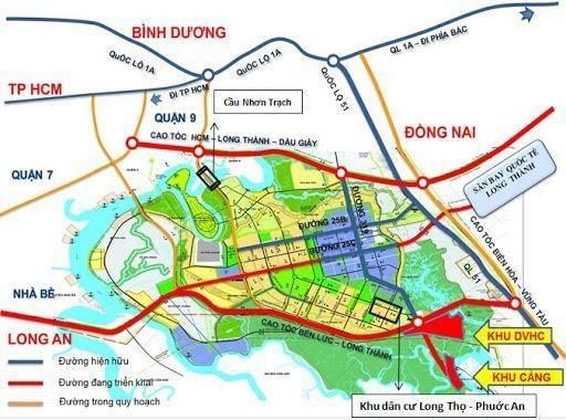 Bán đất Nhơn Trạch Đồng Nai