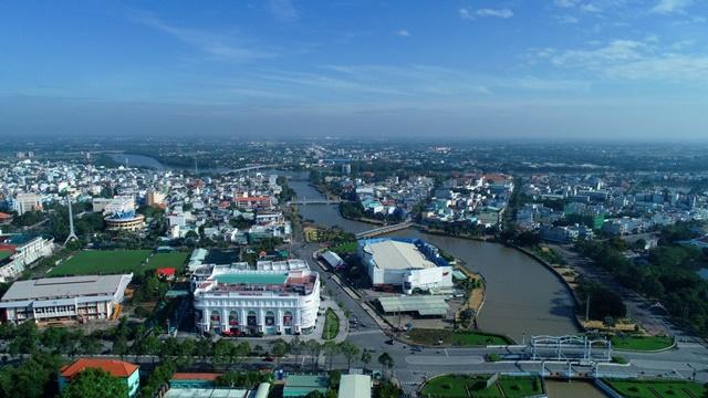 Tân An là thành phố phát triển và sầm uất