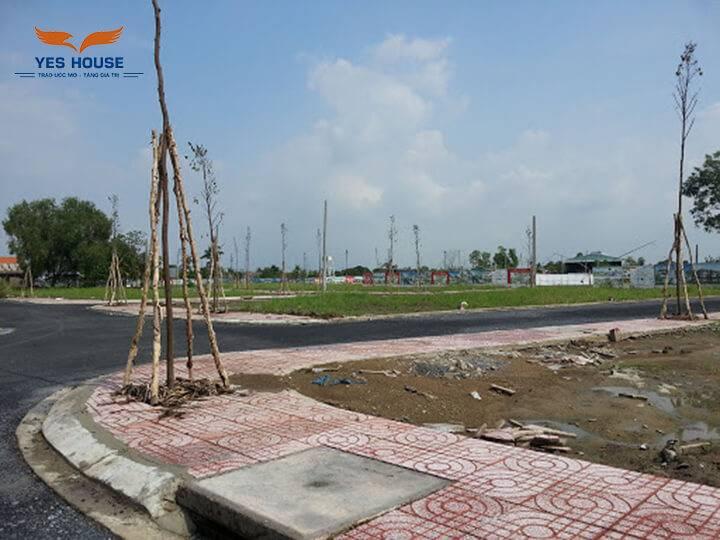 Bán đất xã Tân Hòa Bến Lức