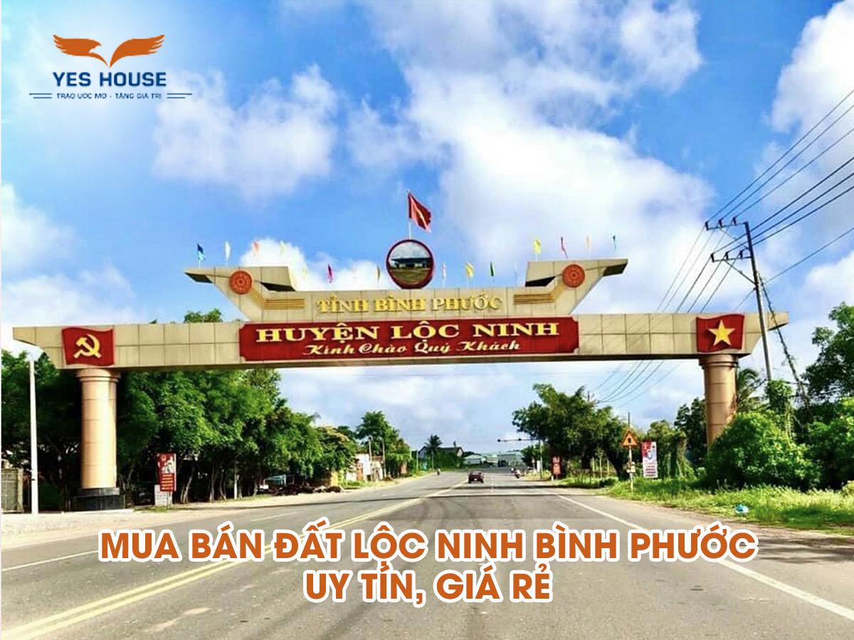 đất Lộc Ninh Bình Phước