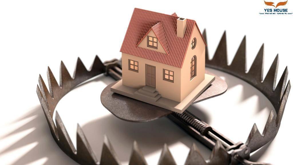 nạn lừa đảo trên thị trường bất động sản