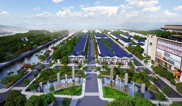 Dự án Metro City Đức Hòa Long An