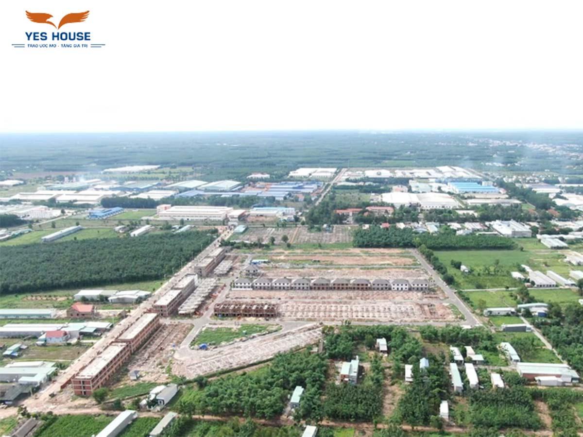Sự phát triển của khu công nghiệp Becamex Chơn