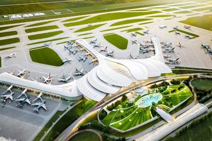 Quy mô xây dựng của dự án rất lớn nên rất cần đến 6 xã quy hoạch sân bay mới có thể làm nên dự án như vậy