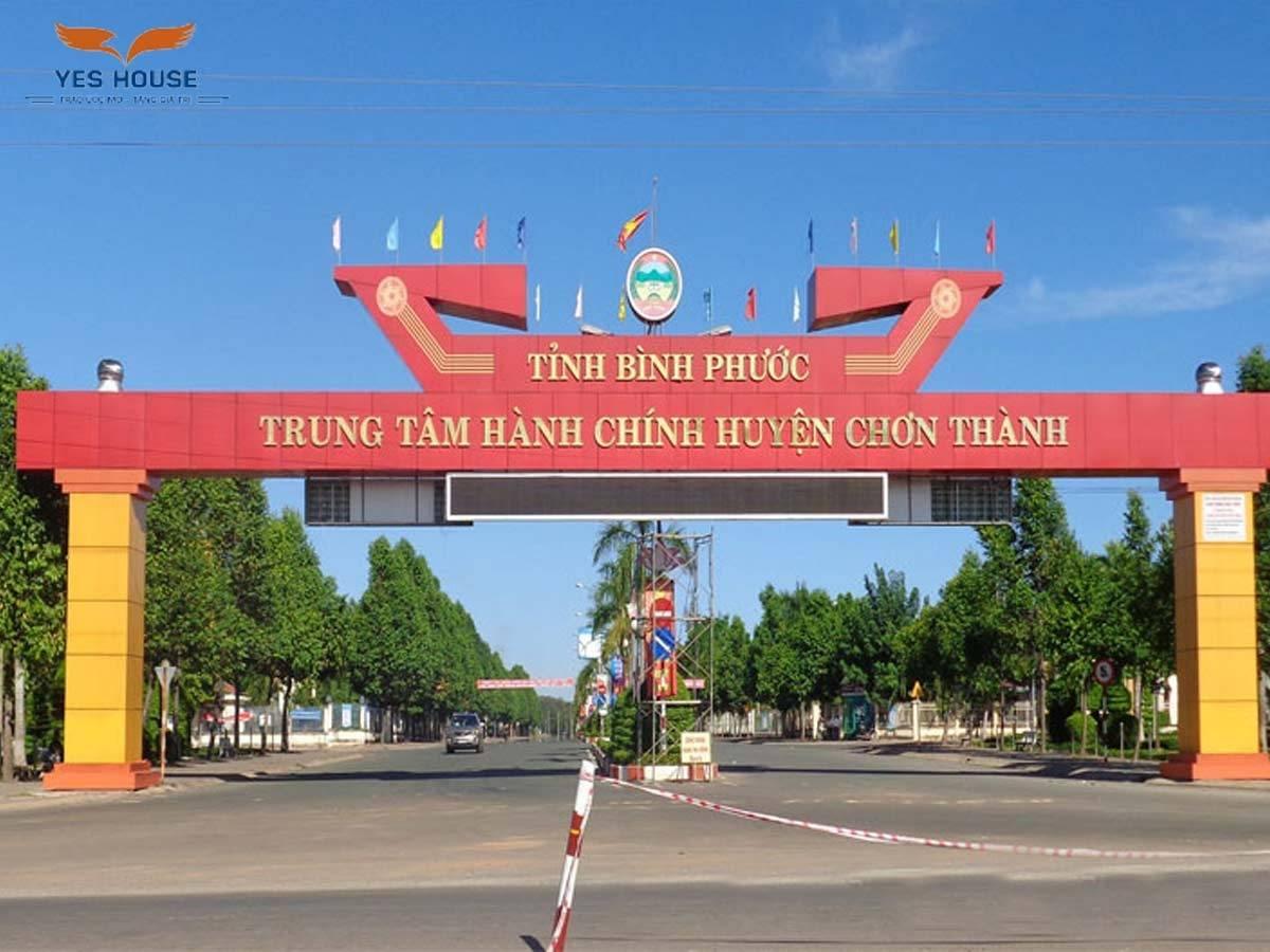 Tầm nhìn huyện Chơn Thành